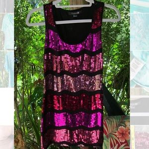 Forever21 sequin tank top Sm
